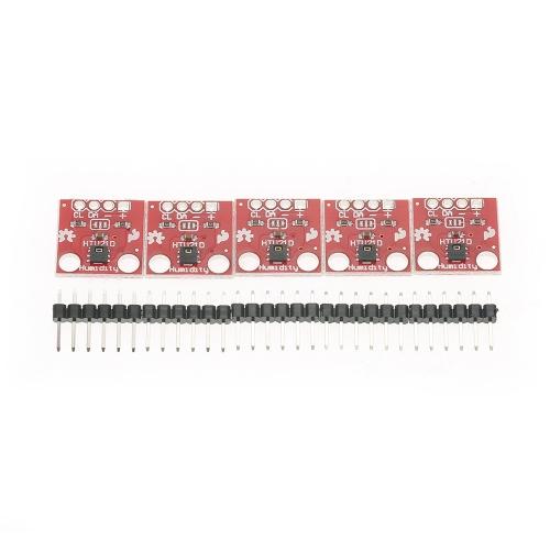 Arduino用5PCS HTU21D温度および湿度ブレークアウトボードセンサーモジュール
