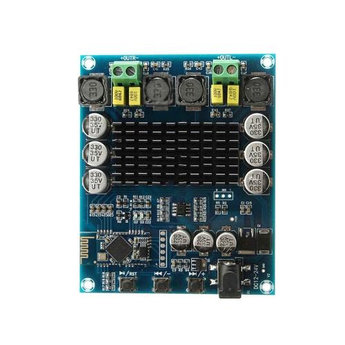 PA3116 Dual Channel Stereo TPA3116D2 sem fio BT 4.0 módulo de receptor de áudio placa de amplificador digital 2 * 120W
