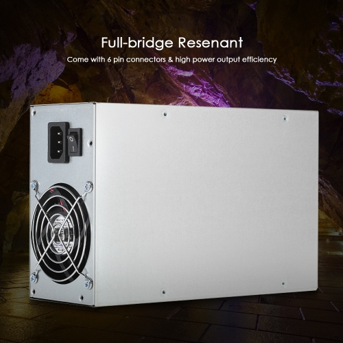 1800W Switching Server Power Supply 90% High Efficiency Professional Mining Machine