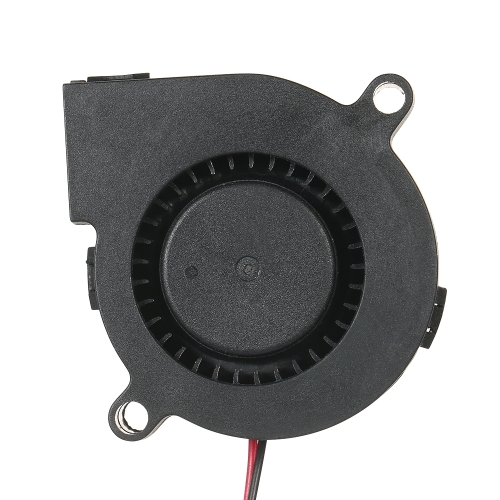 3pcs DC12V 5015 Cooling Blower 2-pin Exhaust Fan 50x50x15mm Centrifugal Fan for 3D Printer Humidifier Aromatherapy and Other Small