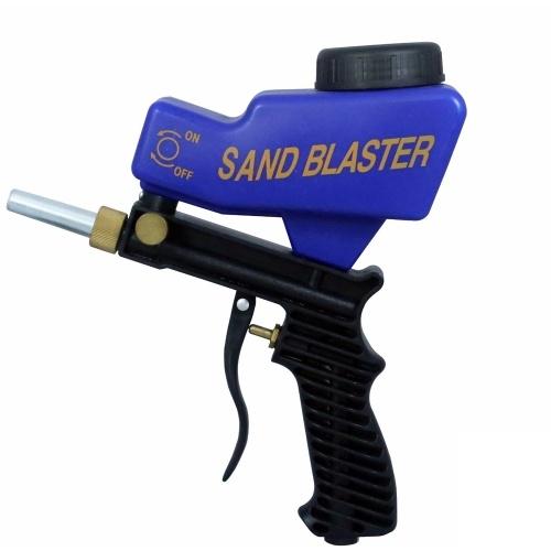 Macchina a spruzzo gravitazionale tipo air blaster a sabbia