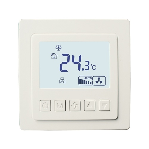 Centrale di condizionamento d'aria interruttore LED intelligente pannello di controllo del pannello di controllo della temperatura del termostato LYK-608