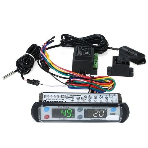 Regolatore di registrazione digitale di temperatura e umidità YouKong