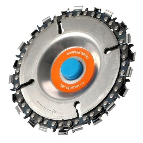 100インチ115アングルグラインダー用4インチグラインダーディスクとチェーン22歯ファインカットチェーンセット