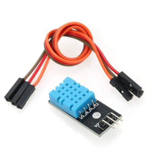 Arduino DIYキット用ケーブル付きDHT11温度および湿度センサーモジュールDHT11モジュール