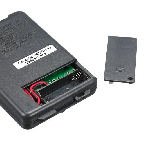 RICHMETERS Handheld Mini Digital Multimeter Multifunction 4000 Counts Multi Meter AC/DC Transistor Voltage Tester Ammeter Temperature Sensor Test Probe VC921