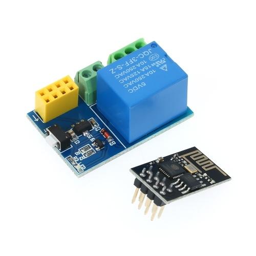 Modulo relè ESP8266 W-F - Interruttore Smart Control remoto con presa intelligente con modulo ESP-01S