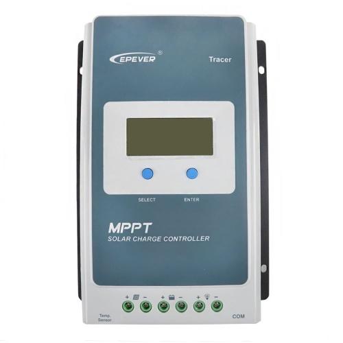 Контроллер заряда от солнечных батарей Epever Tracer-AN Series MPPT ЖК-дисплей Epever Контроллер зарядного устройства Солнечный регулятор 12/24 В постоянного тока (Tracer 4210AN: 40A)