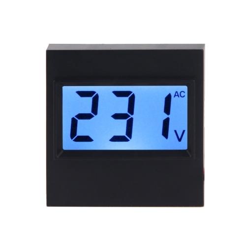 AC 80 V-380 V Voltímetro Digital Display LCD Volt Painel Medidor Monitor de Tensão Medidor Tester Gauge Dustproof Display Module