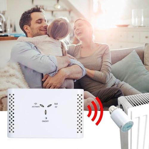 WIFIの電気床暖房水のためのサーモスタットのないスマートなサーモスタットの温度調節器の受信機