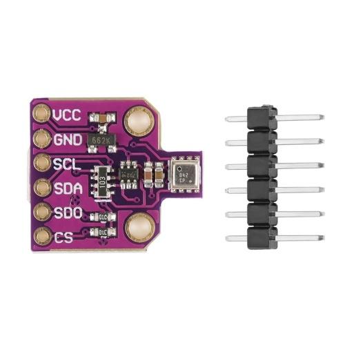 CJMCU-680 BME680 Modul Temperatur Luftfeuchtigkeit Drucksensor Barometrischer Sensor Entwicklungsboard Sensormodul Umgebungssensor