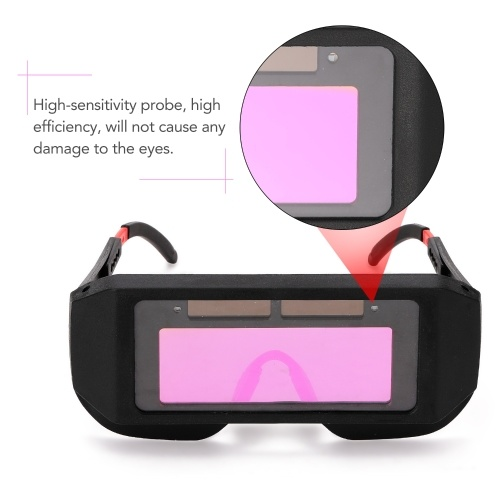 Professional Solar Energy Auto Darkening Welding Safety Goggles Anti-glare UV Weld Glasses