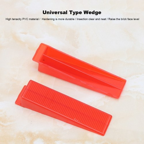 Tile Leveling System Tool 100pcs Universal Type Reusable Wedge