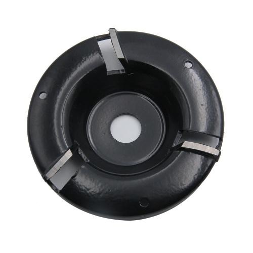 Fresa per utensili a disco per intaglio del legno a tre denti per smerigliatrice angolare con apertura di 16 mm
