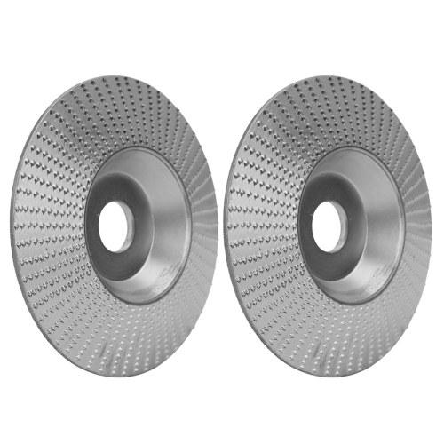 アングルグラインダー用ウッドアングルグラインディングホイールサンディングカービングロータリーツール研磨ディスク5/8インチボアを成形する高炭素鋼