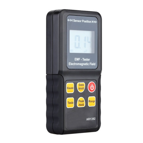AR1392 Portable Digital LCD Electromagnetic Field Radiation Detector Gauss Meter Tester