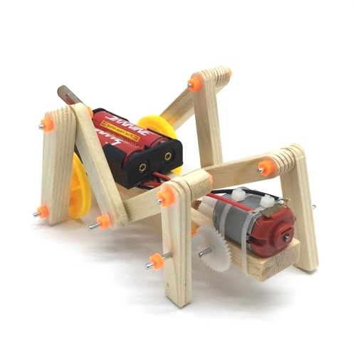 Kit de construcción de insectos de madera DIY Insects Material Set 3D Assemble Insecto de madera Puzzle Creative Educational Science Experiment Toy Gift para niños niñas niños niños y adultos