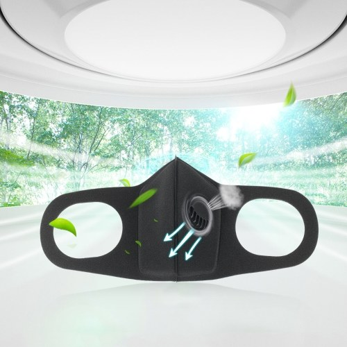 Anti Dust Breathing Mask Cotton Haze Valve Anti Air Dust and Smoke Pollution Adjustable PM2.5 Air Filter Mask for Women Men