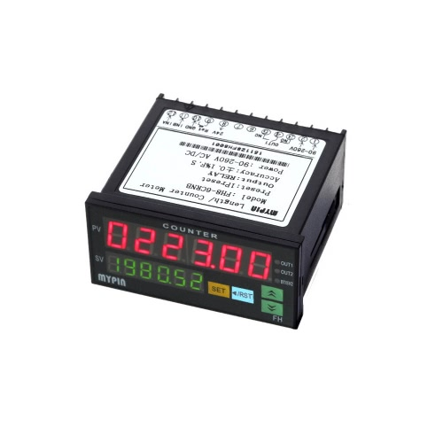 90-260V AC/DC Digital Counter Length Batch Meter 1 Preset Relay Output