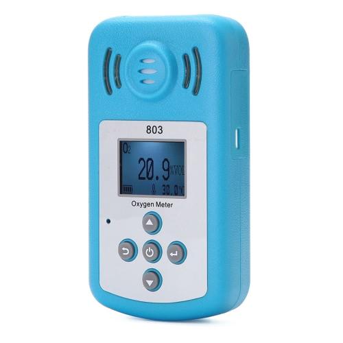 Oxygen Meter Portable Oxygen(O2) Concentration Detector
