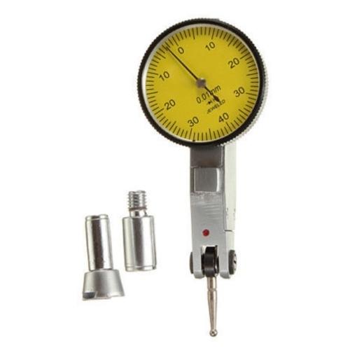 Indicatore di test del quadrante di precisione Metrico con binari a coda di rondine + custodia