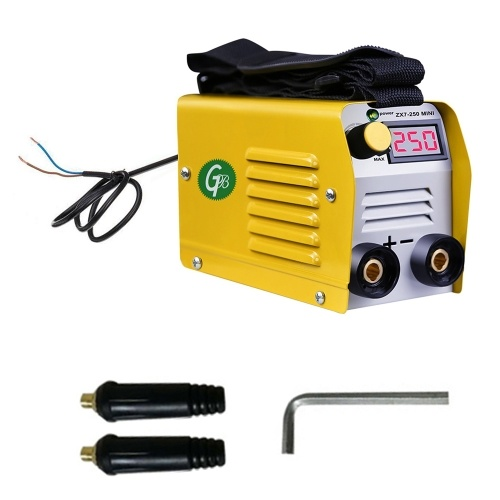 20-250A Current Adjustable Portable Household Mini Electric Welding Machine IGBT Digital Soldering Equipment with Display ZX7-250