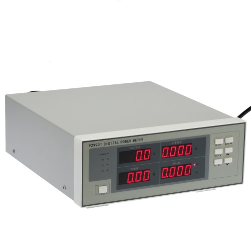 AC Digital Power Meter Voltage Current Power Factor PF Frequency Measurement Electric Parameter Measuring Tester with Alarm AC86-265V