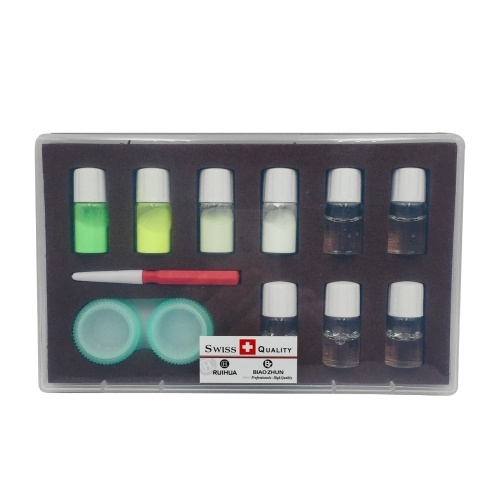 4色プロフェッショナルウォッチ発光蛍光-粉末セット時計職人時計修理ツール時計アクセサリー