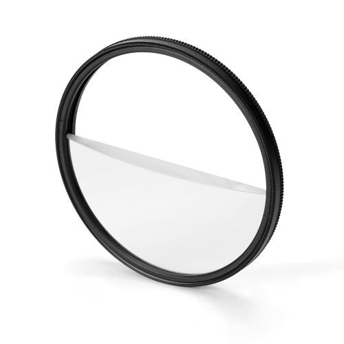72 мм разделенная диоптрийная призма камера увеличивающий фильтр размытия переднего плана пленка и телевизионный реквизит с разделенным полем аксессуары для зеркальных фотоаппаратов