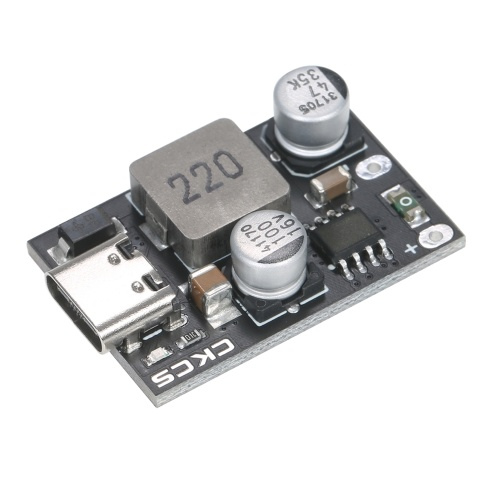 KKmoon Type-C Buck Converter QC3.0 PD2.0/PD3.0 PPS Power Supply Module Step Down Converter 8V-32V to 3V-12V DC Voltage Regulator Module Supports Fast Charging