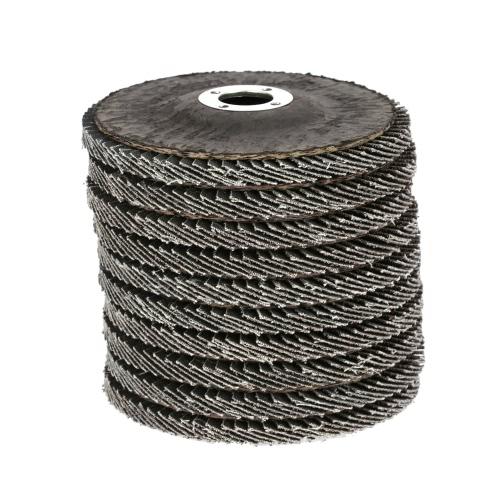 Professional 10pcs 100x5x16mm Quick Change Grit Flap Sanding Disc Grinding Wheel