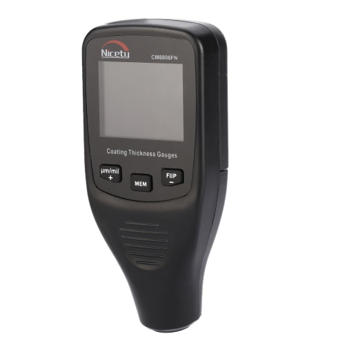 Nicety CM8806FN Handheld Digital Coating Thickness Gauge Tester Fe/NFe Single & Continuous Measurement Data Storage