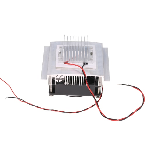 DIY Thermoelectric Peltier Refrigeration Cooling System Kit Semiconductor Cooler Conduction Module + Radiator + Fan + TEC1-12706