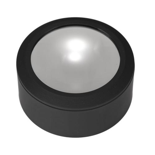 Multi-fonctionnel 70mm Portable 3.5X Loupe de bureau avec 3 lumières LED acrylique loupe outil
