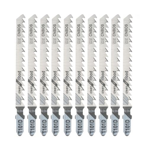 10pcs 100mm Saw Blades Wood Metal Fast Cutting Reciprocating Saw Blade