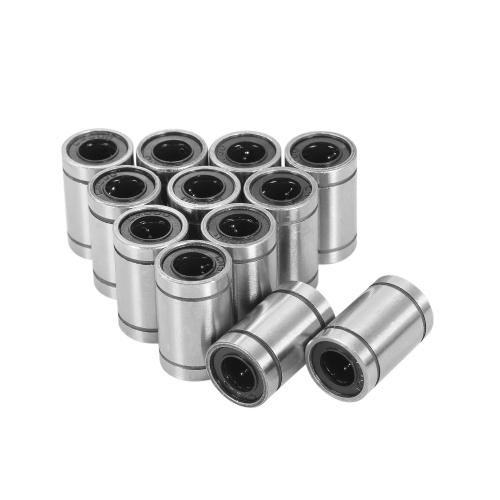 12 sztuk LM8UU Liniowe Łożyska Kulkowe do 8mm RepRap Prusa 3D Printer Tool DIY CNC Motion 8 * 15 * 24mm