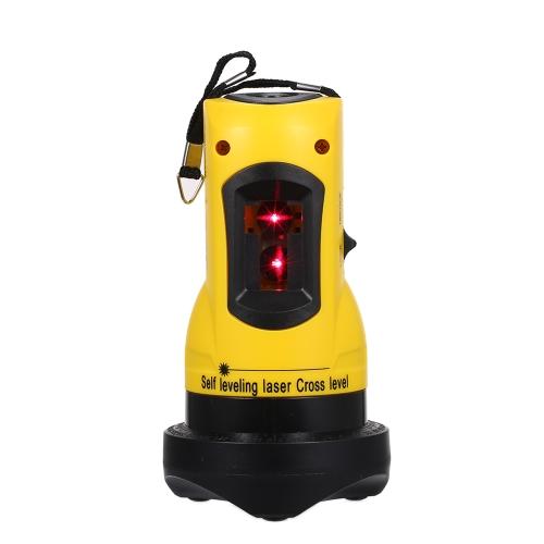 Urządzenie 2 linii krzyżowych Laserowe urządzenie 360 Obrotowe krzyżowanie linii może być używane z ponadnormatywnym alarmem Zewnętrzny odbiornik pionowy i poziomy