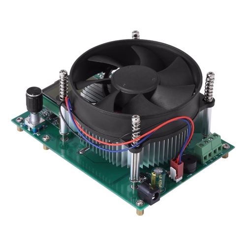 120W定電流電子負荷60V 10A LCD表示付きバッテリー放電容量テスターメーターモジュール