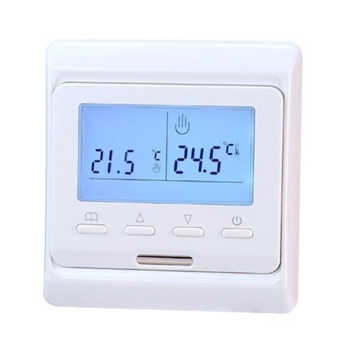 Écran tactile Anti-congélation Chauffage Thermostat Panneau Intelligent Interrupteur De Contrôle De La Température Surchauffe Protection Clavier De Verrouillage Contrôleur E51