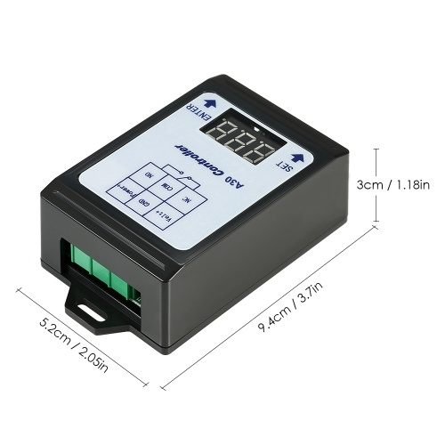 DC 6~80V Voltage Detection Charging Discharge Monitor Relay Switch Controller with Case