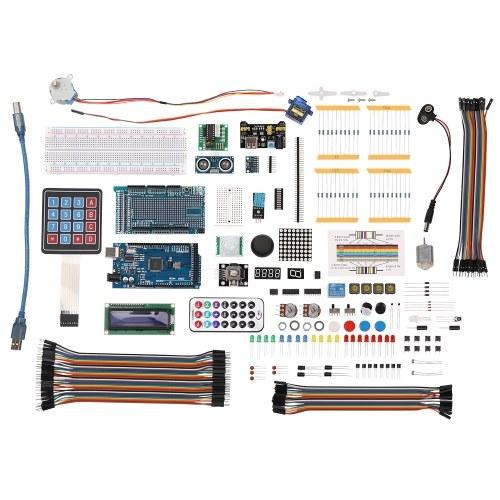 Подходящий комплект для начинающих для начинающих для Arduino MEGA 2560 LCD1602