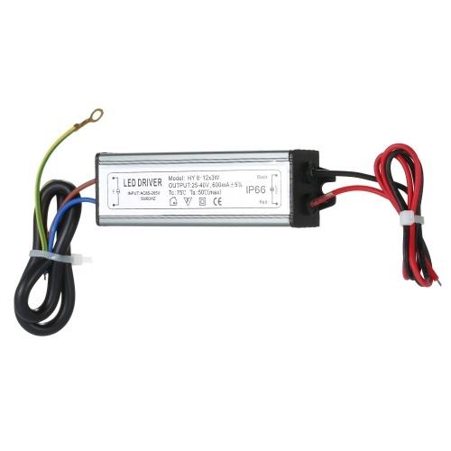 8 ~ 12x3W LED Konstantstrom-Treiber-Netzteil-Adapter-Transformator-Schalter