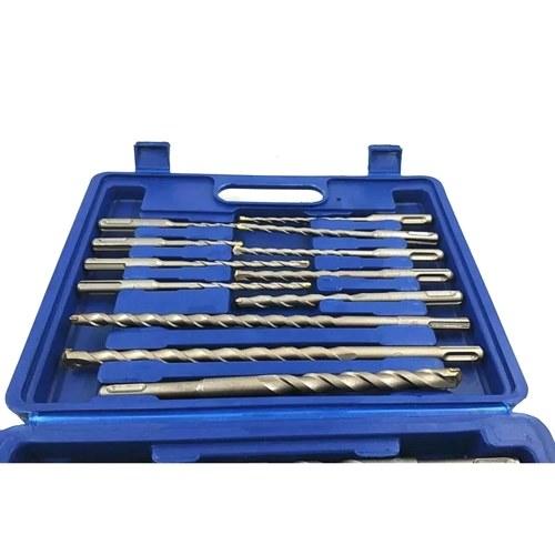 17 stücke Bohrer Set Elektrische Hammer Bohrer Meißel Lochschneider Bohren Einstechwerkzeuge mit Kunststoff Box