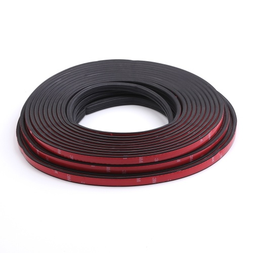 5M Car Door Seal Strips Auto Rubber Seals Sticker Noise Insulation B Shape Weatherstrip Rubber Seals Dustproof Automobiles Interior Accessories E7147