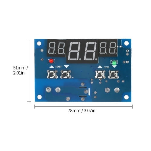 XH-W1401 Smart Digital Temperature Control Module Temperature Controller Thermostat Module Heating & Cooling Control Module