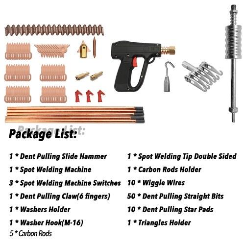 86pcs Dent Puller Kit Car Body Repairing Tools