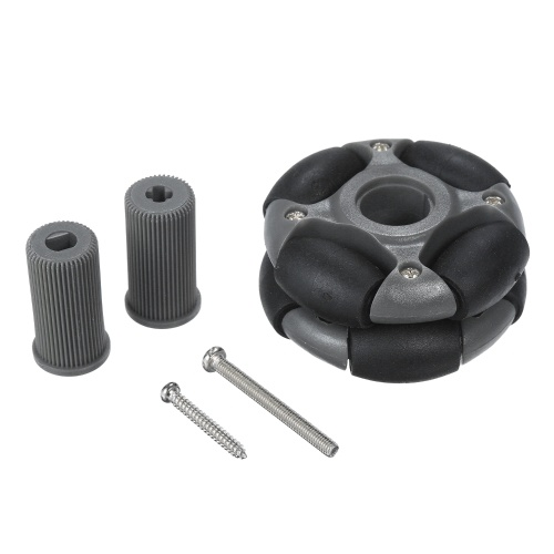 48mm Compatible Omni Wheels 14036 Universal Wheel with Roller and Screws for Arduino Smart Robot Car DIY RC Toy Parts