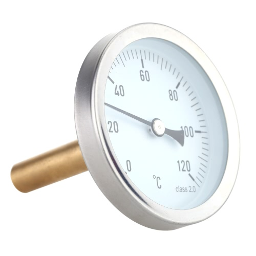 63mm Horizontal Dial Thermometer