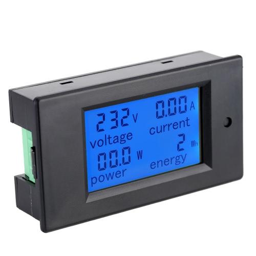 AC80-260V 100A Digital LCD Strom Spannung Wirkleistung Energie Erkennung Tester Amperemeter Voltmeter Multifunktionsmesser