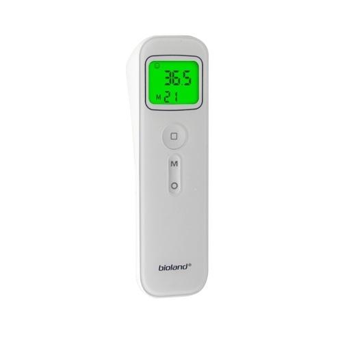 Termòmetre frontal E127 amb alarma de febre i funció de memòria Termòmetre infrarrojo sense contacte i adult per a la superfície del cos